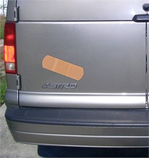 Giant Band-Aid Decal