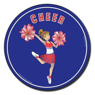 Cheer Car Magnet