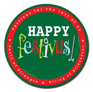 Happy Festivus Car Magnet