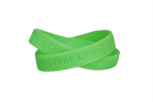 Lyme Disease - Check for Ticks reminder wristband - Adult 8""