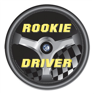 Rookie Driver Car Magnet
