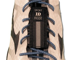 Sport ID Shoe Tag w. Sharpie