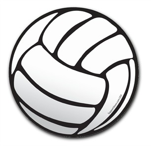 Volleyball Car Magnet Volleyball Round Magnet - Custom volleyball car magnets