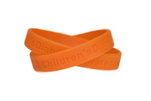 Childhood Diabetes Wristband